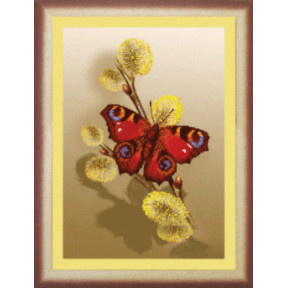 Схема для вышивания Чарівна Мить СБ-016 Бабочка 2 фото
