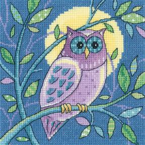 Набор для вышивания крестом Heritage Crafts Owl  H1380