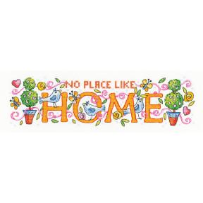 Набор для вышивания крестом Heritage Crafts Home H1515
