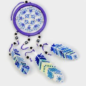 Набор для вышивания бисером на пластиковой основе Волшебная страна FLPL-032