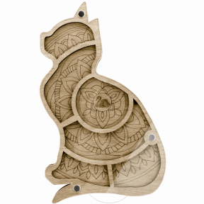 Органайзер для бисера с крышкой  Волшебная страна FLZB-036