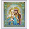 """Набор для вышивания бисером Картины Бисером Икона Божией Матери """"Спорительница хлебов"""" Р-405"""