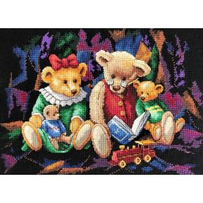 Набор для вышивания крестом  Classic Design Сказки на ночь 4472