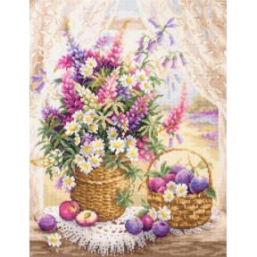 Набор для вышивки крестом Чудесная игла Летний аромат 100-182