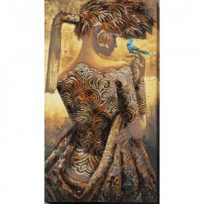 Набор для вышивки бисером на холсте Абрис Арт «Мерцание дня» АВ-689
