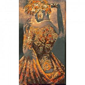 Набор для вышивки бисером на холсте Абрис Арт «Золото ночи» АВ-690
