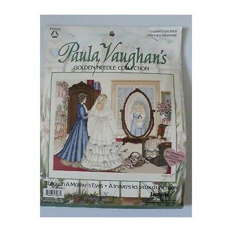 """Схема для вышивания """"Through a Mother's Eyes"""" by Paula Vaughan 2912"""