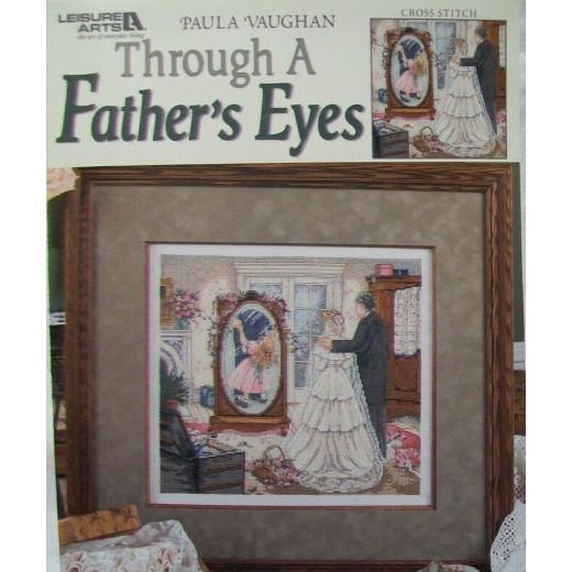 """Схема для вышивания """"Through a Father's Eyes"""" by Paula Vaughan 3794"""
