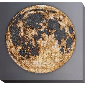 Набор для вышивки бисером на холсте Абрис Арт «Луна» АВ-702