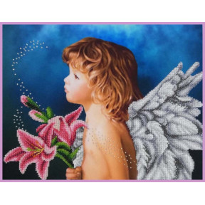 Набор для вышивания бисером Картины Бисером Парусник Р-404