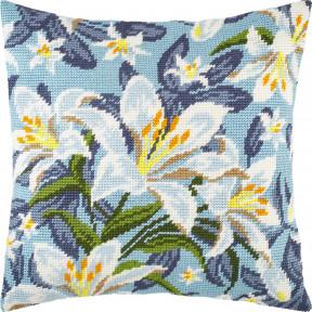 Набор для вышивки подушки Чарівниця Белые лилии V-280