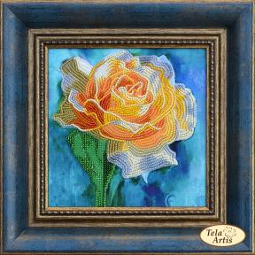 Набор для вышивания бисером Tela Artis НВ-007 Желтая роза