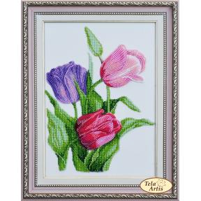 Набор для вышивания бисером Tela Artis НВ-001 Тюльпаны