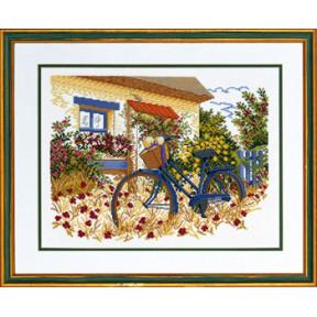 Набор для вышивания Eva Rosenstand Blue bike 14-153