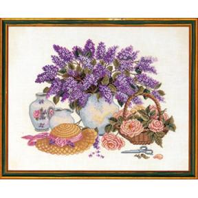 Набор для вышивания Eva Rosenstand Hat & lilac 14-013