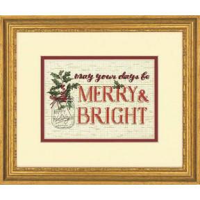 Набор для вышивания Dimensions Merry and Bright  70-08982