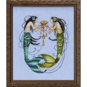 Схема для вышивания Mirabilia Designs The Twin Mermaids MD141