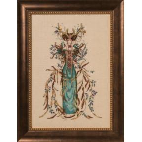 Схема для вышивания Mirabilia Designs Cathedral Woods Goddess MD164