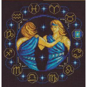 Набор для вышивки крестом Panna ЗН-0924 Близнецы