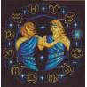 Набор для вышивки крестом Panna ЗН-0924 Близнецы фото