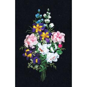Набор для вышивки лентами Panna Ц-1046 Праздник цветов