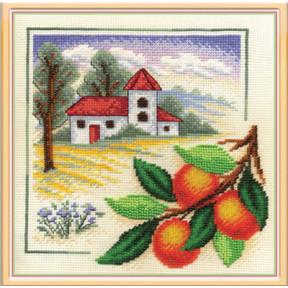 Набор для вышивки крестом Panna ПС-0815 Сады Тосканы фото