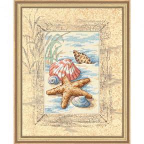Набор для вышивания Dimensions 06956 Shells in the Sand