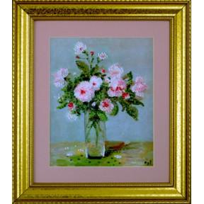 Набор для вышивания Design Works 2397 Pink Roses фото