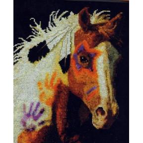 Набор для вышивания Bucilla 45442 War Pony фото