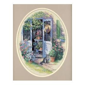 Набор для вышивания  Dimensions 35124 Garden Door