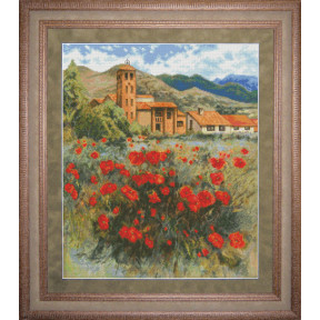 Набор для вышивки крестом Юнона 0703 Испанский полдень фото