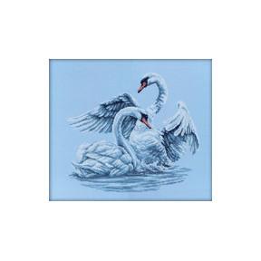 Набор для вышивки RTO M210 Лебединая верность