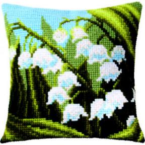 Набор для вышивки подушки Чарівна Мить РТ-171 Ландыши фото