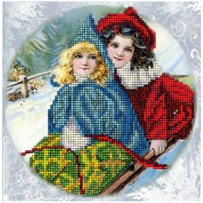 Набор для вышивания бисером КиТ 60915 Рождественские истории 16