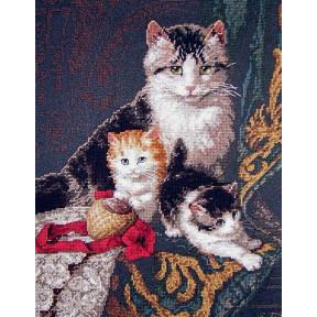 Набор для вышивания крестом Classic Design Семейный портрет 4340