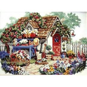 Набор для вышивания крестом Classic Design Садовый Домик 4322