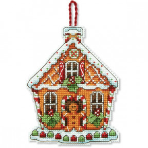 Набор для вышивания Dimensions 70-08917 Gingerbread House Ornament