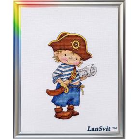 Набор для вышивания ЛанСвіт Покоритель морей Д-036 фото