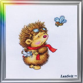 Набор для вышивания ЛанСвіт Летный день Д-045 фото