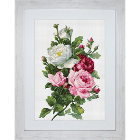 Набор для вышивки крестом Luca-S BA22855 Букет из роз