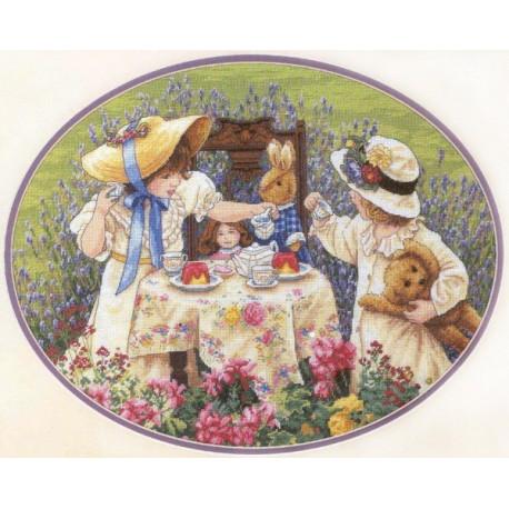 Набор для вышивания крестом Classic Design 4330 Чаепитие фото