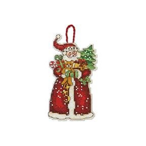 Набор для вышивания Dimensions 70-08895 Santa Ornament
