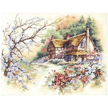 Набор для вышивания крестом Classic Design 4324 Уютный Дом фото