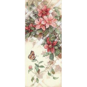 Набор для вышивания крестом Classic Design 4325 Цветы и Бабочки