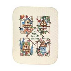 Набор для вышивания одеяла Dimensions 03211 Home for All