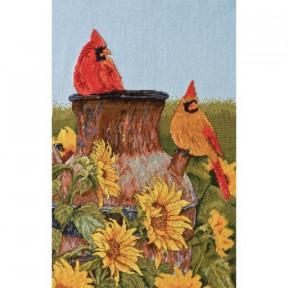Набор для вышивания Bucilla 45948 Cardinals фото