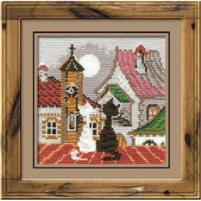 Набор для вышивки крестом Риолис  611 Весна