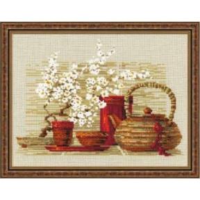 Набор для вышивки крестом Риолис 1122 Чай