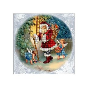 Набор для вышивания бисером КиТ 50915 Рождественские истории 15