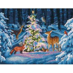Набор для вышивания Dimensions 70-08922 Woodland Glow фото